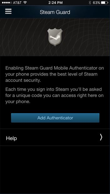 how to setup steam guard